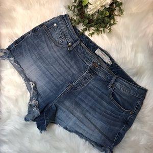 Torrid | Denim Jean Cut Off Shorts 16